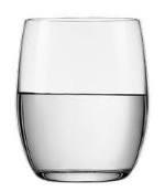 Club Crystal Whisky Tumblers 300ml x2