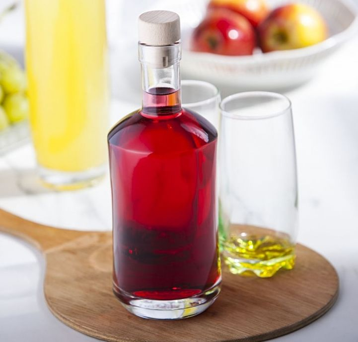 Cordial Bottle 750ml  | Solavia Fine Glassware