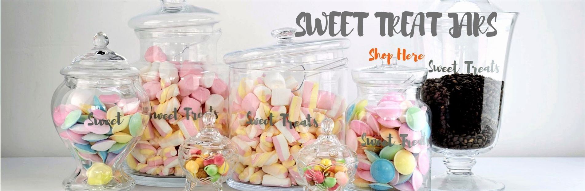 artisan sweet jars and bowls