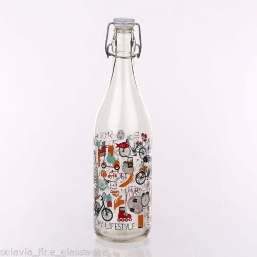 Swing Top Bottle 1L Life