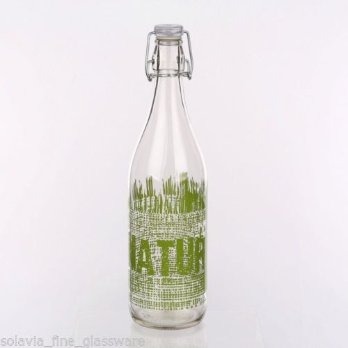 Swing Top Bottle 1L Verde
