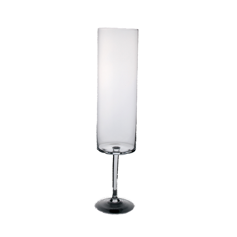 Tall Footed Candle Holder 75cm | Solavia Fine Glassware