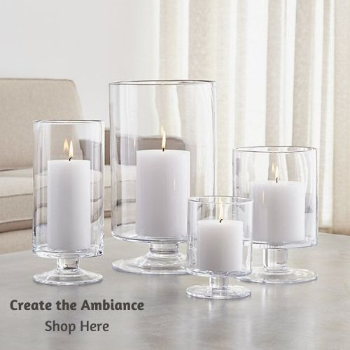 candle holders for your dining and kitchen table setting